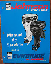 1994 Evinrude Johnson Manual de Servicio 25 40 45 48 50 55 HP Español 500608-SPA