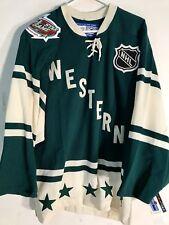Reebok Authentic NHL Jersey All-Star West Team Green sz 46