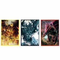 YUGIOH SLEEVES GOD CARDS 50pcs | OVP YGO Sleeve Obelisk Slifer Ra Cards Hüllen