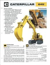 Equipment Brochure - Caterpillar - 245 - Excavator - c1977 (E4877)