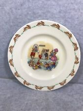 Royal Doulton Bunnykins Tickets Collection Plate