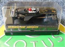 Scalextric Lotus 77 C126 Red Helmet JPS Andretti Nilsson Slot New Boxed Superb