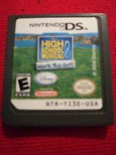 High School Musical 2 Nintendo DS Game DSi DSi XL 3DS 2DS XL Game