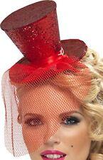 Cappelli e copricapi multicolore in plastica per carnevale e teatro dal Regno Unito