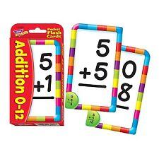 Trend 56-piece 8 X 13 Cm Addition Pocket Flash Cards White