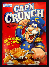 Cap'n Crunch Sweetened Corn & Oat Cereal 398g USA Captain Crunch