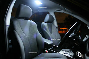 Bright White LED Interior Light Kit for Mitsubishi Triton 07+ Double Cab ML MN