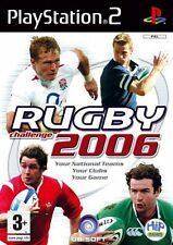 Rugby Challenge 2006 PS2 great condition with book