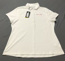 Under Armour Women's SS Golf Shirt Polo (XL, White)(Blemish)(NWT) MSRP $72