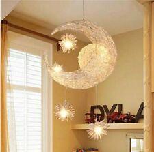 New Moon Star Children Kid's Child Pendant Lamp Chandelier Ceiling Light Bedroom