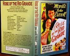 ROSE OF THE RIO GRANDE DVD 1935 John Carroll, Movita, Duncan Renaldo