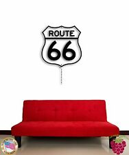 Wall Sticker Route 66 Main Street of America Mother Road Cool Decor z1504
