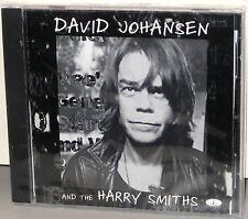CHESKY JD 196 CD: David Johansen & The Harry Smiths - USA 2000 Factory SEALED