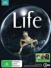 Life (DVD, 2010, 4-Disc Set), REGION-4, Like new, free shipping within Australia