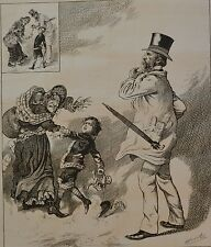 NY Daily Graphic. Only a Question of Time. 1876.