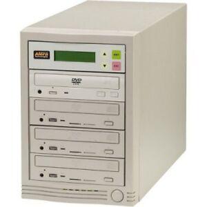 ACARD Technology DVD Copy Station Tower - 1 x Base Drive + 5 x DVD Writer