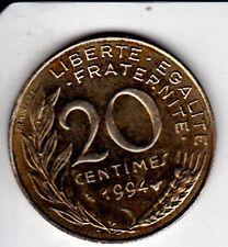 PIECE 20 CENTIMES 1994 MARIANNE REPUBLIQUE FRANCAISE