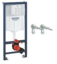 Grohe 38536001 Frame Rapid SL 2 -1 Set for Wall-Hung Toilet, 1.13 m Wall Bracket