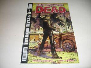 THE WALKING DEAD #1 Image Firsts (2013) Comic  (Robert Kirkman) 9.6 new -MINT!