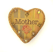 Maximal Art Pin Mother's Day Mother Heart John Wind Jewelry New