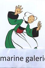 6 Cartes postales enfant Bretagne carte neuve bécassine 10x15 breton décoration