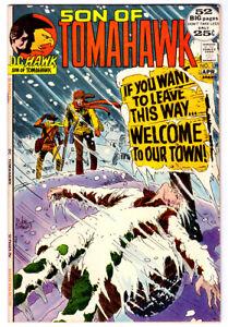 TOMAHAWK #139 in VF+ condition 1972 Bronze Age DC western comic  FRAZETTA art