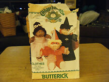 Butterick 6935 Cabbage Patch Kids Halloween Costumes Pattern