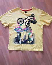 Boys Yellow TSHIRT 9-10yrs Air Born Cycling by FlipBack @ BHS