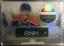 UD THE CUP RYAN NUGENT-HOPKINS  #1/1 PROPERTY OF GU STICK 1/1 OILERS Platinum
