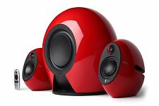 Edifier E235 2.1 THX Certified Active Bluetooth Audio Speaker System - Gloss Red