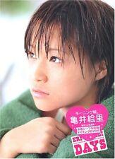Eri Kamei Morniung Musume 'DAYS' Photo Collection Book w/DVD