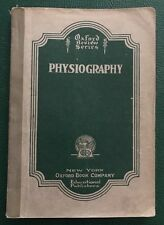 VTG 1929 Oxford Review Series Physiography Book Flushing High School NYC 285pgs