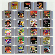 N64 Game Legend of Zelda Mario Party Smash Bros..... For US/CAN Version Console