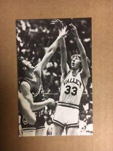 Larry Bird Spring Valley High School Postcard 3 1/2 x 5 1/2 NM