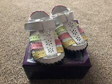 Girls sandals - Pediped Originals - Mimi white Multi 18-24 months