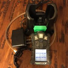 MSA altair 4X Multi Gas Meter Monitor detector,O2,H2S,CO,LEL With Cradle Charger