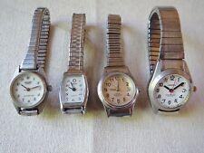 Four Sharp Timex M. C. Berger Capezio Quartz Watches Water Resistent