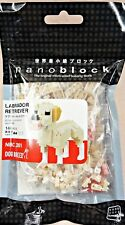 Labrador Retriever Nanoblock Miniature Building Blocks New Sealed Nbc 261