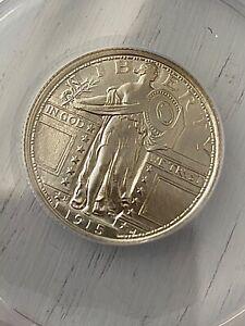 US 1915 Quarter Denver Mint