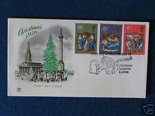 First Day Cover - Christmas 1970 - Stamped - 25/11/70 Bethlehem,Llandeilo,Carms