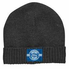 FORD Motor Car Genuine Parts MENS KNITTED BEANIE Hat Fathers Birthday Gift