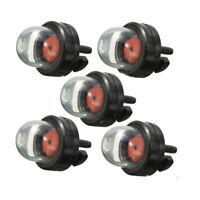 5x Petrol Snap Fuel Bulb Pump in Primer for Stihl Ryobi WALBRO HUSQVARNA LJ