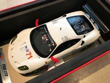 2008 Test Ferrari F430 GT 12H of Sebring Gloss White / Blanc Brillant BBR 1/18