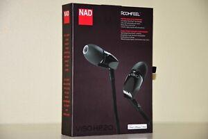 NAD VISO HP20 High Resolution In-Ear Headphones, Black