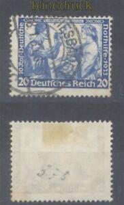 dt. Reich Mi # 505 A gestempelt 20 Pfg. Wagner in A-Zähnung (49706)