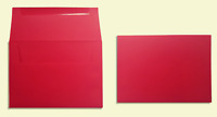 A2▪A6▪A7▪A9 - Discount Holiday Red or White Envelopes - Various Quantities