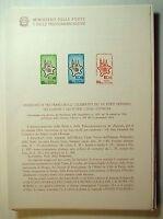 1964  ITALIA  Bollettino Postale N° 110 Poteri  Locali  D' Europa