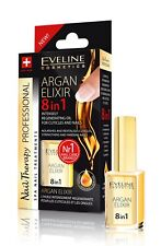 Eveline Argan Elixir 8in1 Intensely Regenerating Oil for Cuticles & Nails
