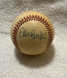 Ellis Burks Todd Benzinger Vintage OAL Baseball Boston Red Sox