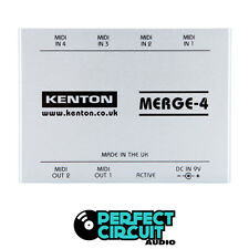 Kenton Electronics Merge-4 Merge 4 MIDI MERGER - NEW - PERFECT CIRCUIT